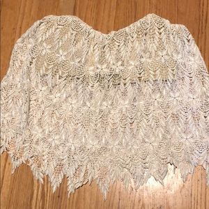 Stone Cold Fox Lace Top Size 1
